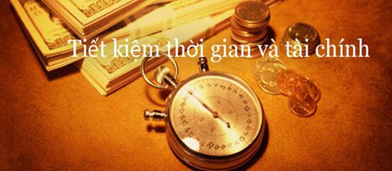 Tiết kiệm thời gian và tài chính