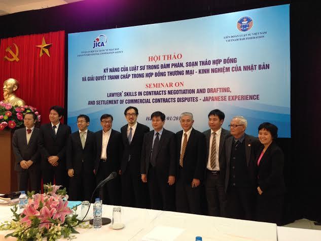 Hội thảo quốc tế về kỹ năng của luật sư trong đàm phán, soạn thảo và giải quyết tranh chấp hợp đồng thương mại