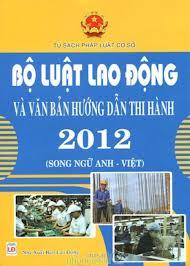 Một số vướng mắc trong việc hướng dẫn thi hành Bộ luật lao động 2012